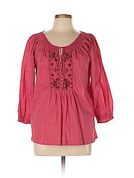 IZOD 3/4 Sleeve Blouse Size L