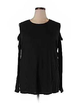 RACHEL Rachel Roy Long Sleeve Top Size 3X (Plus)