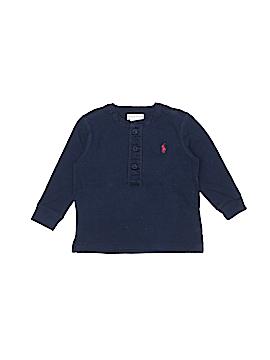 Ralph Lauren Long Sleeve Henley Size 12 mo