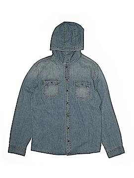 Ruum Long Sleeve Button-Down Shirt Size 14