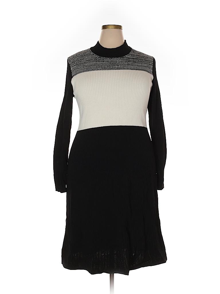 Calvin Klein Women Casual Dress Size 2X (Plus)