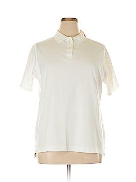 Lands' End Short Sleeve Polo Size 1X (Plus)