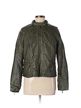 J2 Faux Leather Jacket Size XL