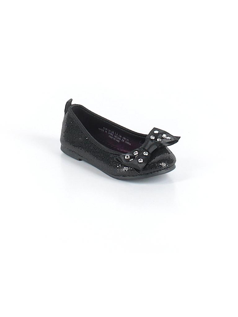 84c759f8d6f H M Solid Black Flats Size 7 1 2 - 46% off