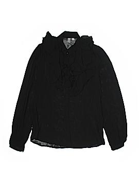 Go International Long Sleeve Blouse Size M