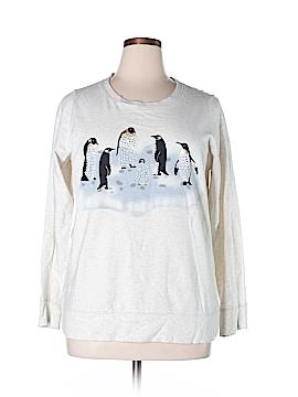 Style&Co Sport Sweatshirt Size 0X (Plus)