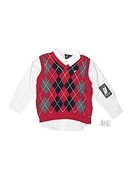 Nautica Long Sleeve Button-Down Shirt Size 3T