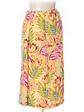 Nygard Collection Silk Skirt Size 14