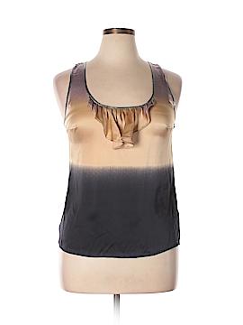 Plenty By Tracy Reese Sleeveless Silk Top Size L