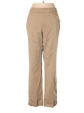 JM Collection Khakis Size 16 (Plus)