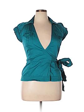 Diane von Furstenberg Short Sleeve Blouse Size 10