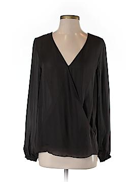 Haute Hippie Long Sleeve Silk Top Size XS
