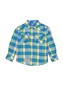LRG Long Sleeve Button-Down Shirt Size 4