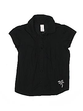 Gymboree Short Sleeve Button-Down Shirt Size 12