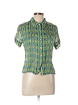 Tilt Short Sleeve Blouse Size L