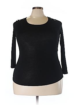 Philosophy Republic Clothing 3/4 Sleeve Top Size 0X (Plus)