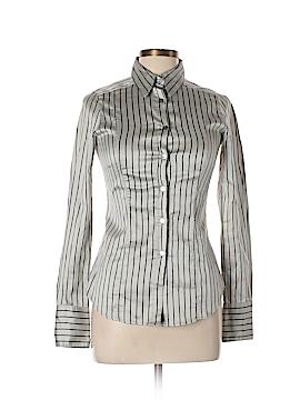 Costume National Long Sleeve Button-Down Shirt Size 44 (EU)