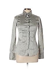 Costume National Women Long Sleeve Button-Down Shirt Size 44 (EU)