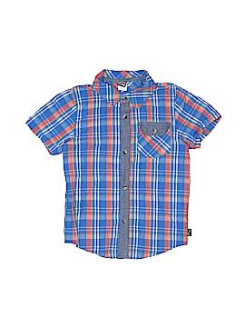 Charlie Rocket Short Sleeve Button-Down Shirt Size 7