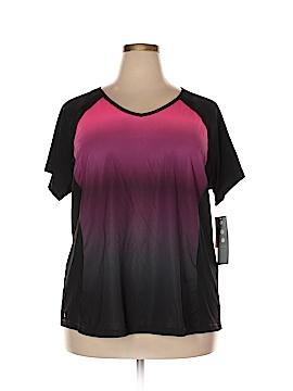 JM Collection Active T-Shirt Size 3X (Plus)