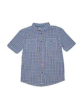 Ben Sherman Short Sleeve Button-Down Shirt Size 12 - 13