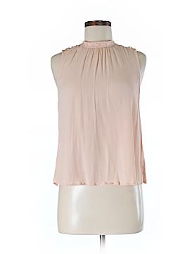 Astr Sleeveless Silk Top Size M