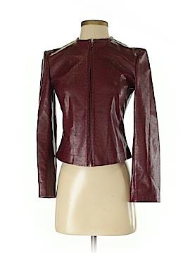 Teenflo Faux Leather Jacket Size 4