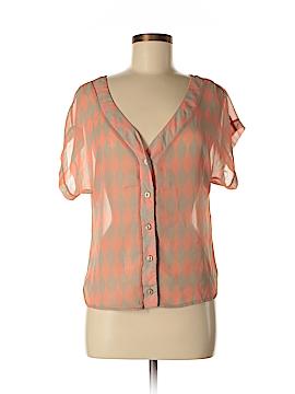 Pronto Short Sleeve Blouse Size M