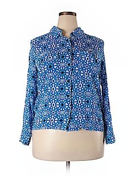 Jessica Simpson Long Sleeve Button-Down Shirt Size 1X (Plus)