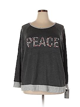 Style&Co Sweatshirt Size 3X (Plus)