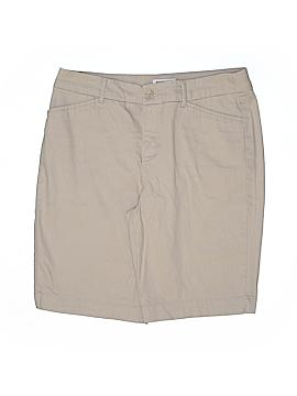 St. John's Bay Khaki Shorts Size 10