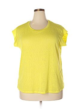 Eloquii Short Sleeve T-Shirt Size 14 (Plus)