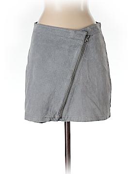 Aqua Leather Skirt Size XS