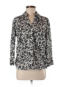 Alfani 3/4 Sleeve Button-Down Shirt Size 14