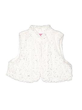 Glo Faux Fur Vest Size X-Large (Kids)