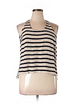 Cynthia Rowley for Marshalls Sleeveless Blouse Size XL