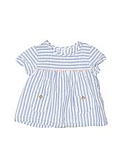 Carter's Girls Short Sleeve Blouse Size 6 mo