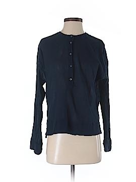 Lou & Grey Long Sleeve Button-Down Shirt Size S