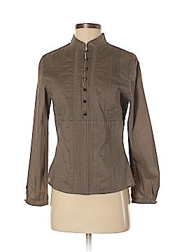 Janeville Long Sleeve Button-Down Shirt Size 4