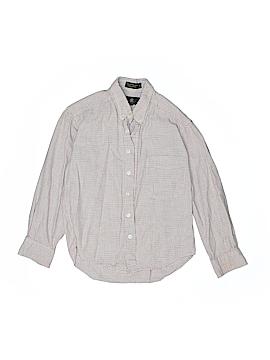 Club Room Long Sleeve Button-Down Shirt Size 8