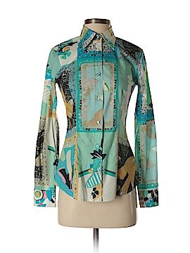 ETRO Long Sleeve Button-Down Shirt Size 38 (IT)