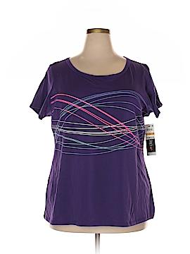Ideology Short Sleeve T-Shirt Size 3X (Plus)