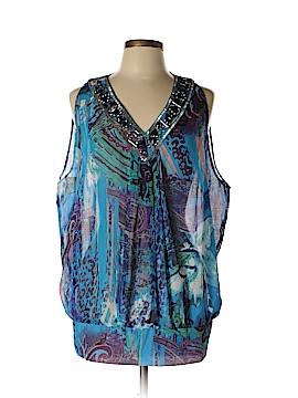 Adrienne Vittadini Sleeveless Blouse Size M