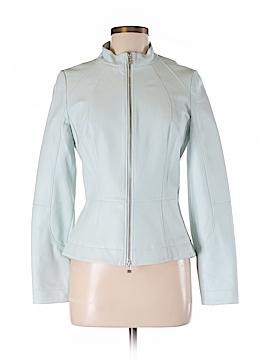 Hilton Hollis Leather Jacket Size 6