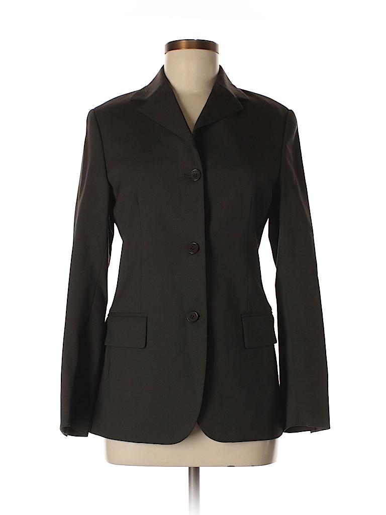 Barneys New York Women Wool Blazer Size 40 (EU)