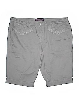 Gloria Vanderbilt Denim Shorts Size 22 (Plus)