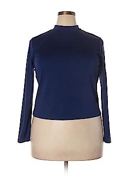 Eloquii Long Sleeve Top Size 18 (Plus)
