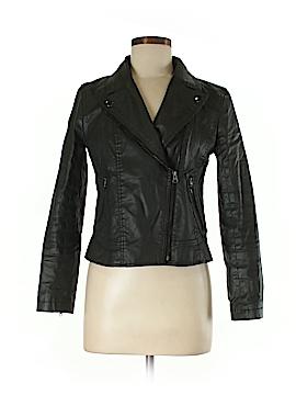 Ann Taylor LOFT Faux Leather Jacket Size S (Petite)