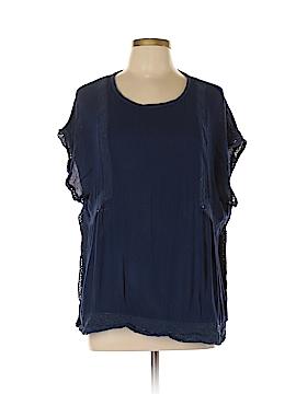 Crescent Short Sleeve Blouse Size XL