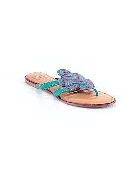 Diane von Furstenberg Flip Flops Size 8